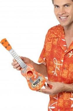 Chitarra hawaiana di plastica