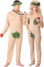 Coppia di costumi adulto Adamo ed Eva