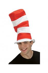 Cappello a tubo di stufa bianco e rosso