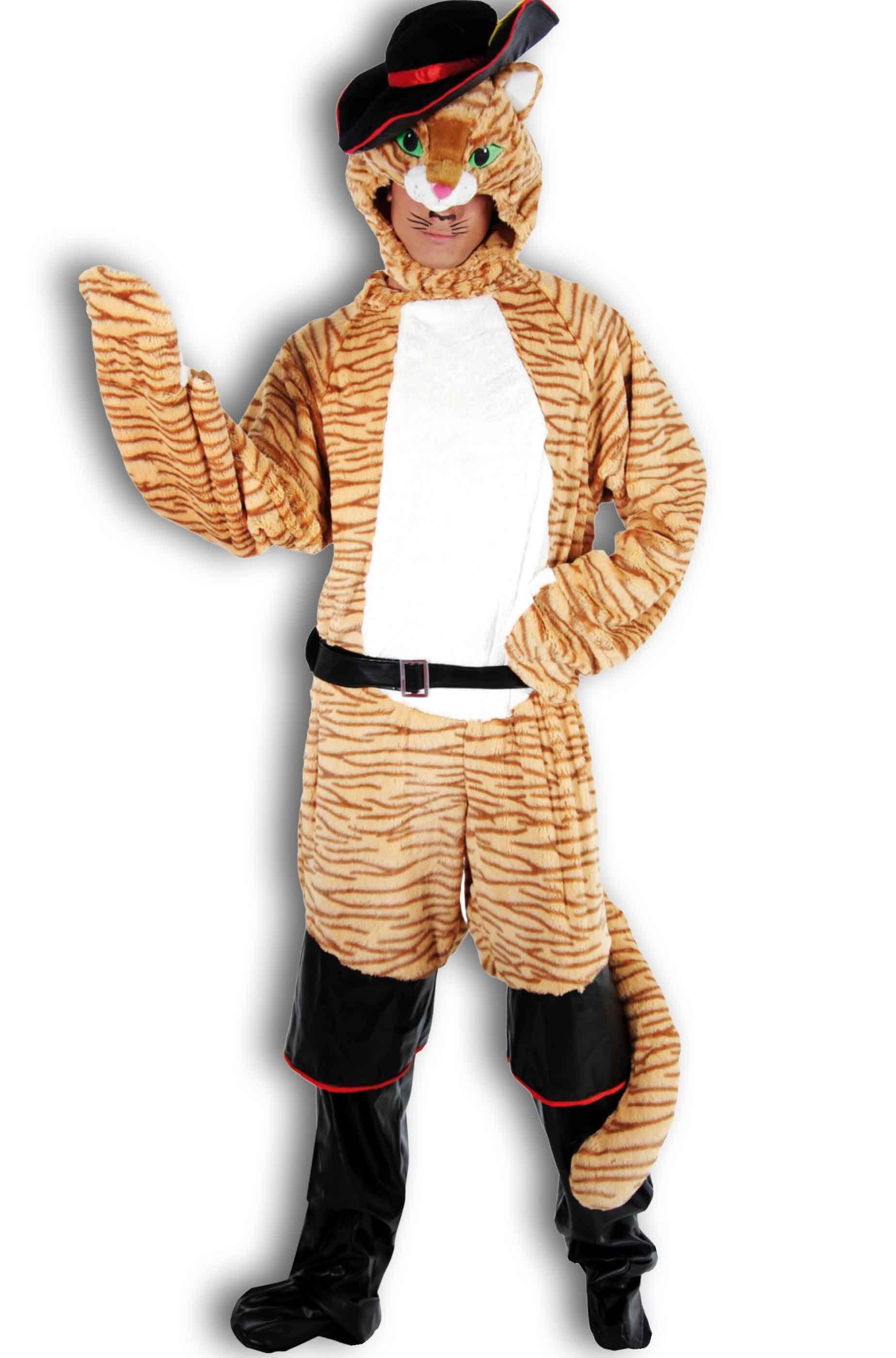 Vestito di carnevale adulto da Gatto con gli Stivali