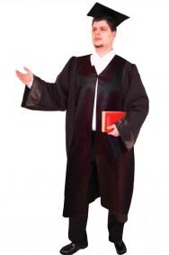 Costume unisex toga laureato lusso Qualita' teatrale.
