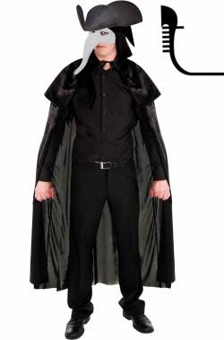 Costume Lo Zanni stile Carnevale di Venezia adulto in offerta