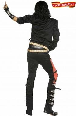 Vestito di Michael Jackson del video Bad origjnale retro