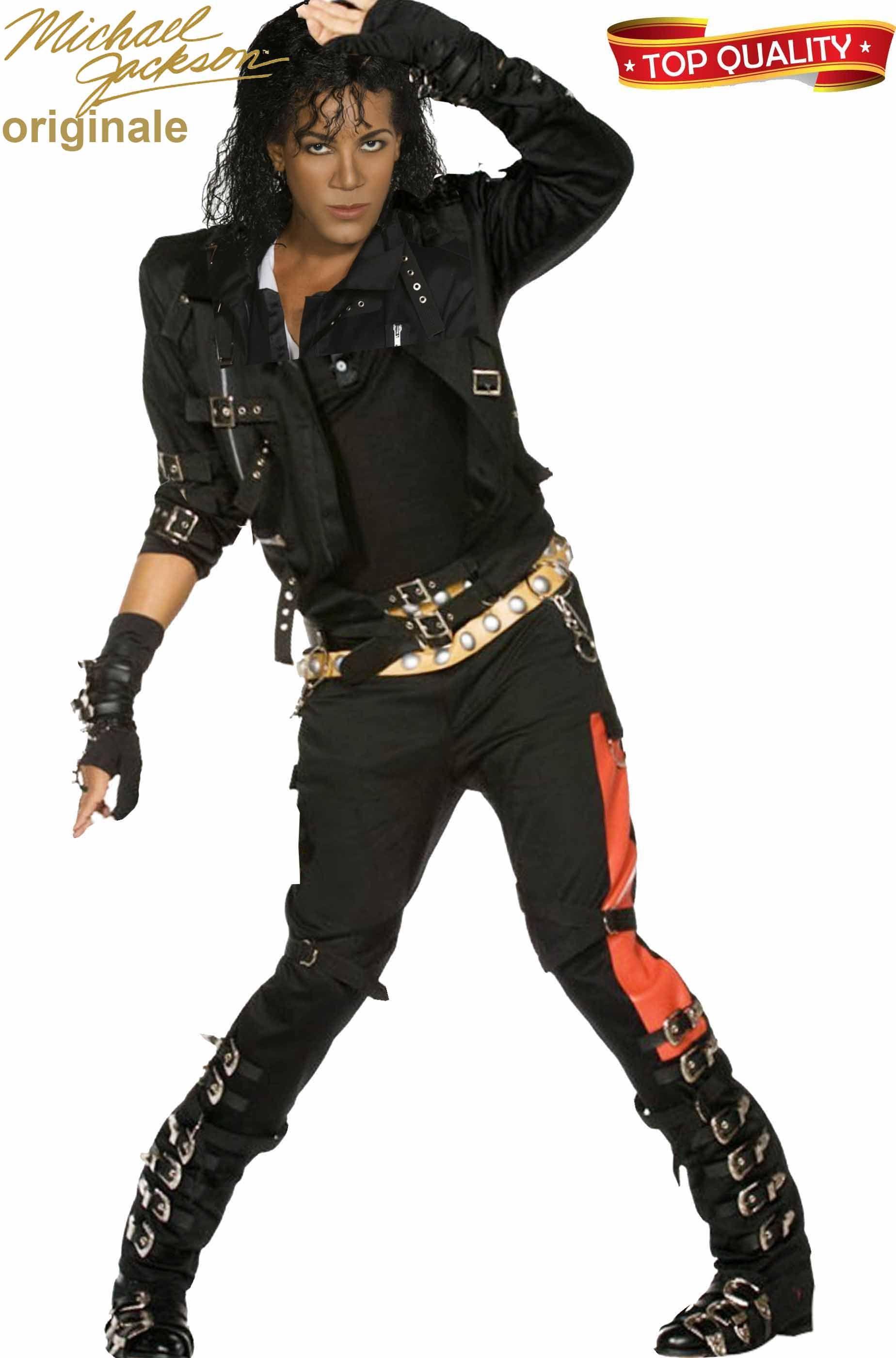 50-70% di sconto nuovi prodotti caldi più nuovo di vendita caldo Costume di carnevale di Michael Jackson Bad adulto top quality