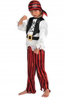 Costume carnevale Bambino Pirata bucaniere