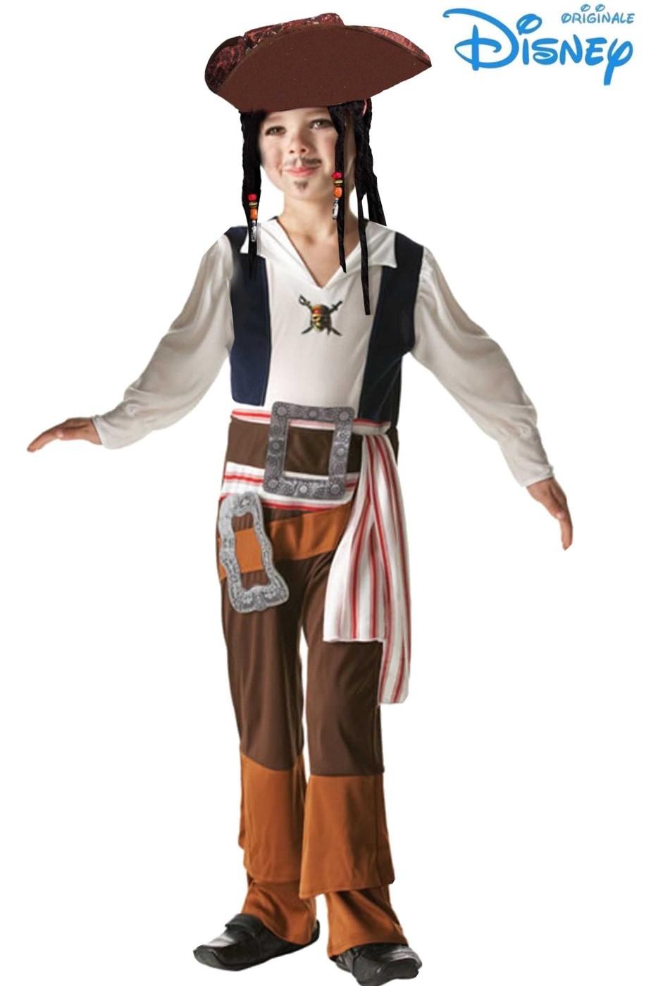 Costume carnevale Bambino Jack Sparrow