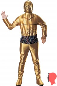 Costume C3PO D3BO dal film Star Wars