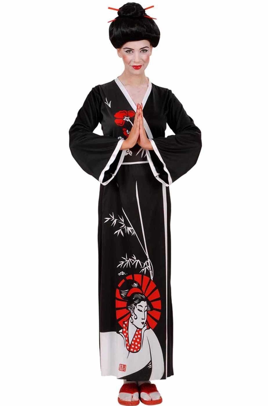Costume donna giapponese cinese geisha