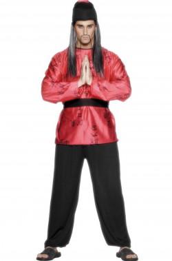 Costume uomo Giapponese o Cinese Fu Manchu