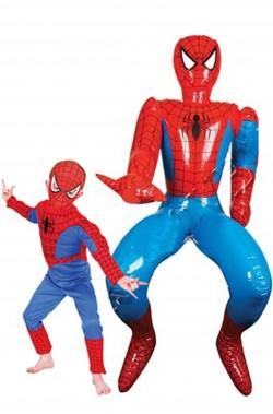 Spiderman gonfiabile dimensione reale