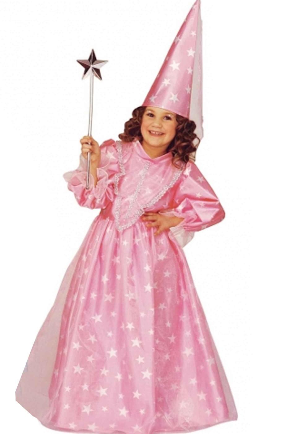 Vestito di carnevale da Bambina Fata Magica Rosa fatina