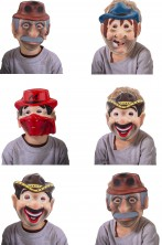 Set maschere bambino offerta assortimento uomini strani