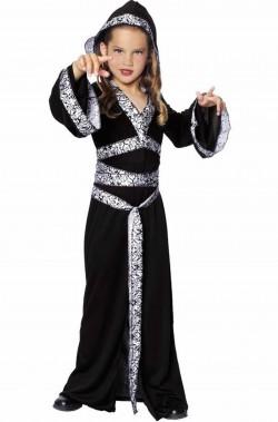 Costume strega, maga, fattucchiera Halloween Bambina