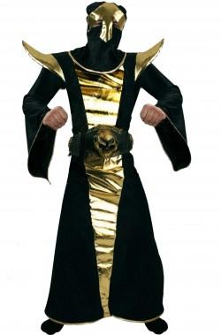 Costume uomo principe delle tenebre Ninja Lord nero