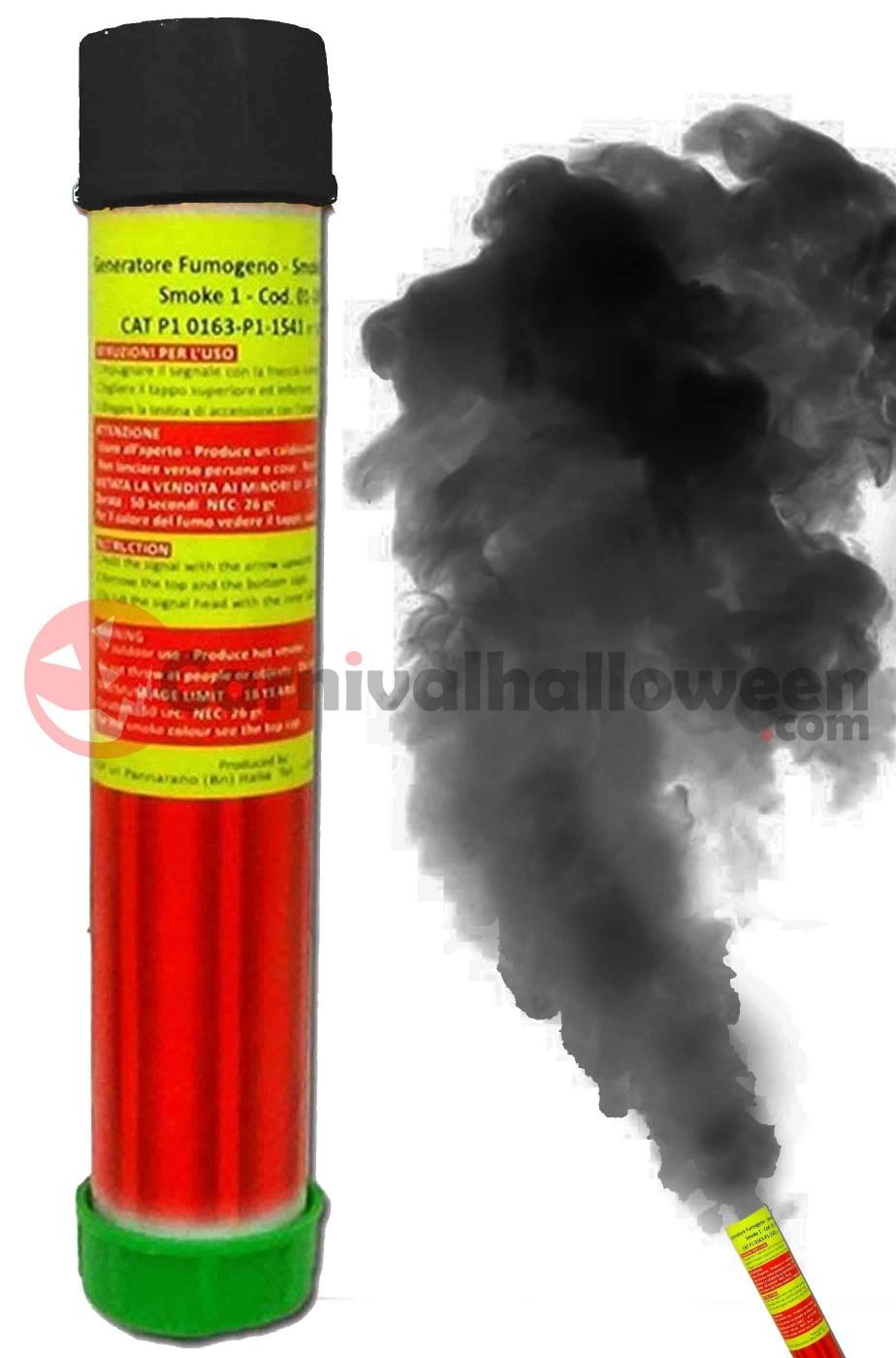 Fumogeno colore nero