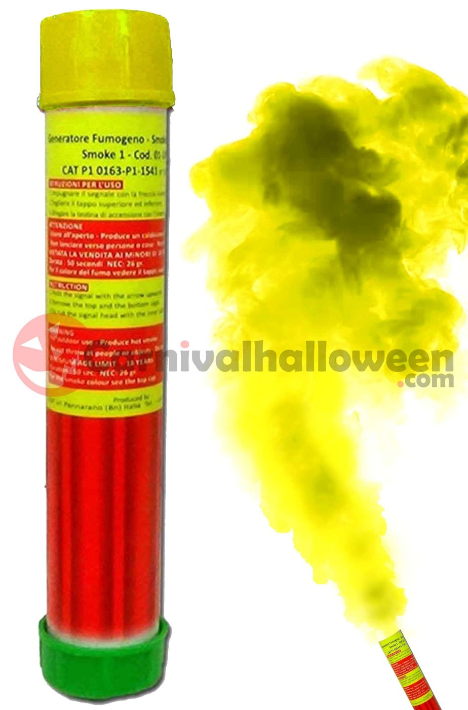 Fumogeno colore giallo