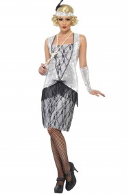 Costume Adulta Flapper Anni 20 charleston