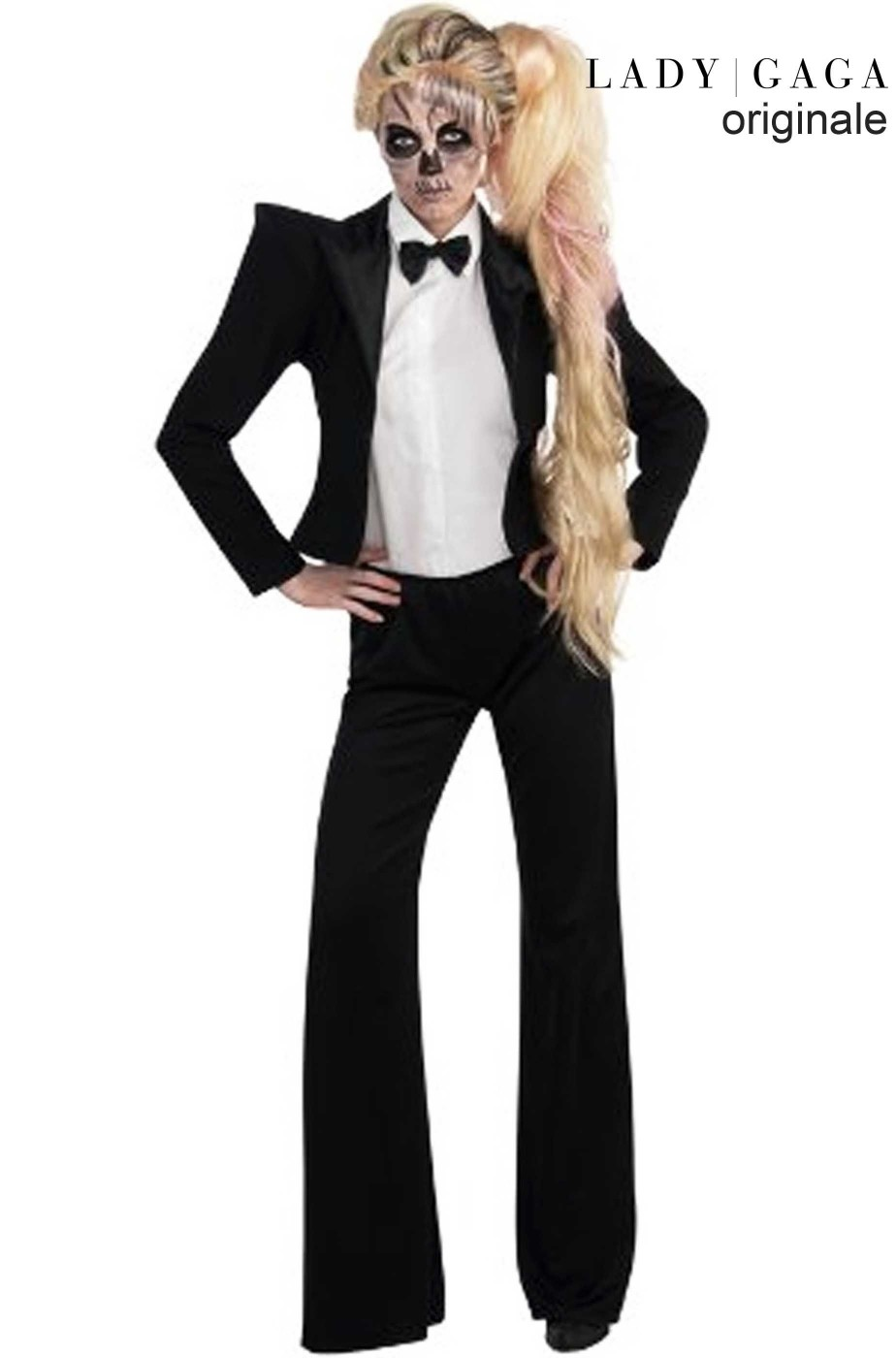 Costume Smoking adulto Lady Gaga Born This Way