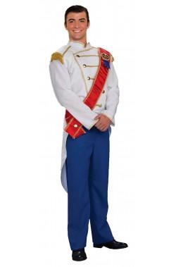 Vestito da principe azzurro giacca blu di Sissy o Cenerentola Sissi adulto
