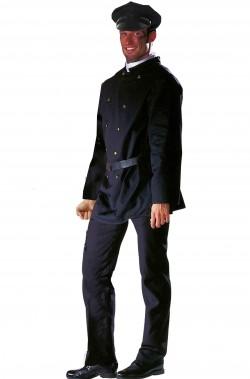 Costume uomo giacca spazzacamino o presentatore mago o domatore