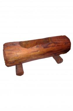 Portafiori in legno stile tirolese circa 35cm