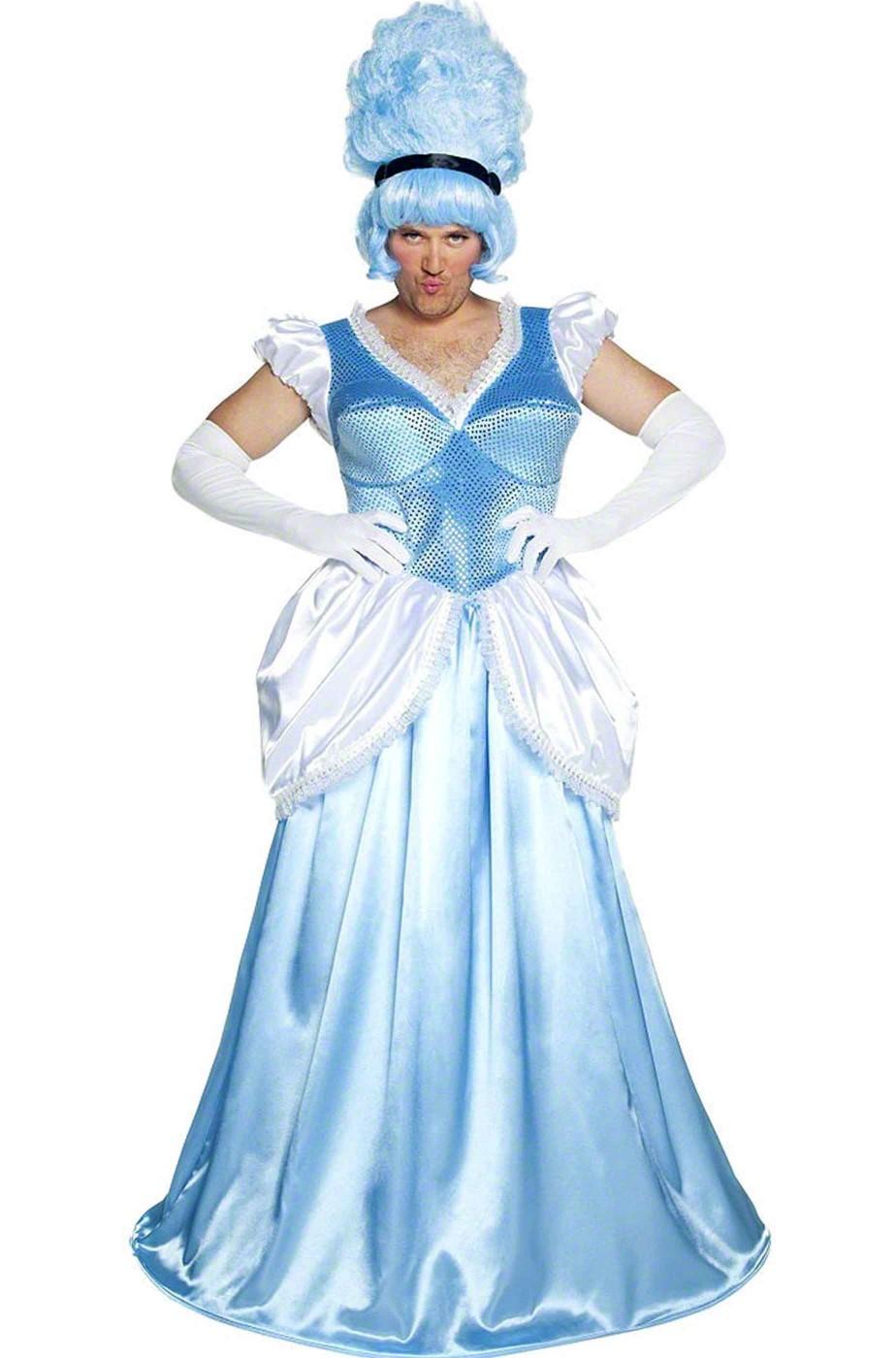 Abito uomo da donna Cenerentolo Principesso Azzurro