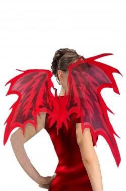 Ali rosse e nere diavolo o diavolessa