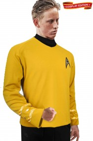 Star Trek maglia uniforme Capitano James Kirk Cosplay