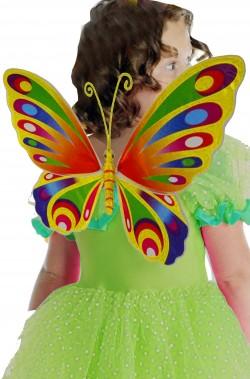 Ali farfalla bambina multicolore per bambina 45x35