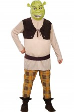costume di carnevale da uomo adulto shrek