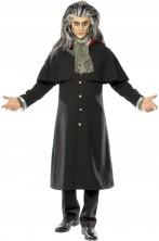 Costume Halloween da uomo lord Dracula vampiro