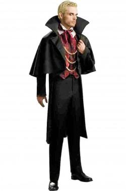 Costume uomo vampiro barone vittoriano