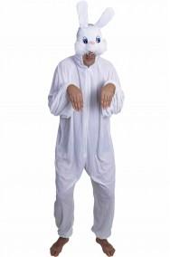 Costume adulto coniglio bianco bianconiglio