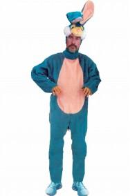Costume adulto coniglio blu