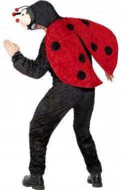 Costume carnevale adulto unisex da coccinella