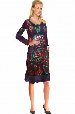 Costume donna araba adulta trasparente nero