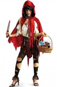 Costume cappuccetto rosso horror