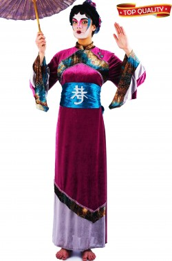 Costume donna giapponese o geisha lusso Qualita' teatrale.