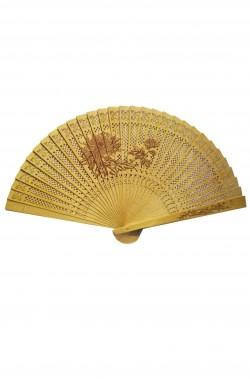Ventaglio da giapponese o cinese geisha in legno