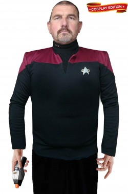 Star Trek uniforme Capitano Starfleet classe Intrepid cosplay