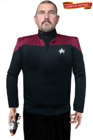 Star Trek uniforme Capitano Starfleet classe Intrepid cosplay
