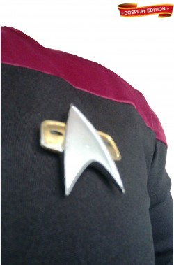 Star Trek uniforme Capitano Flotta Stellare classe Intrepid cosplay