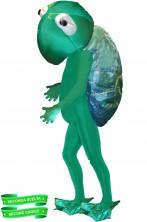 Costume Mascotte da Tartaruga seconda scelta con grande testa