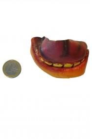 Trucco halloween bocca finta con lingua in lattice da applicare