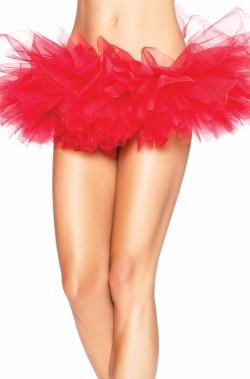 Sottogonna tutu burlesque organza rossa Leg Avenue