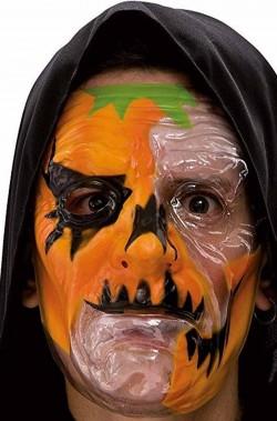 Maschera da Zucca dell'orrore trasparente
