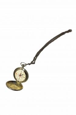 Orologio da taschino vintage stile anni 20 vero di metallo
