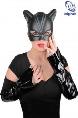 Set maschera e manicotti Catwoman originale DC Comics