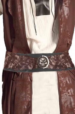Cintura cinturone da pirata o piratessa con teschio
