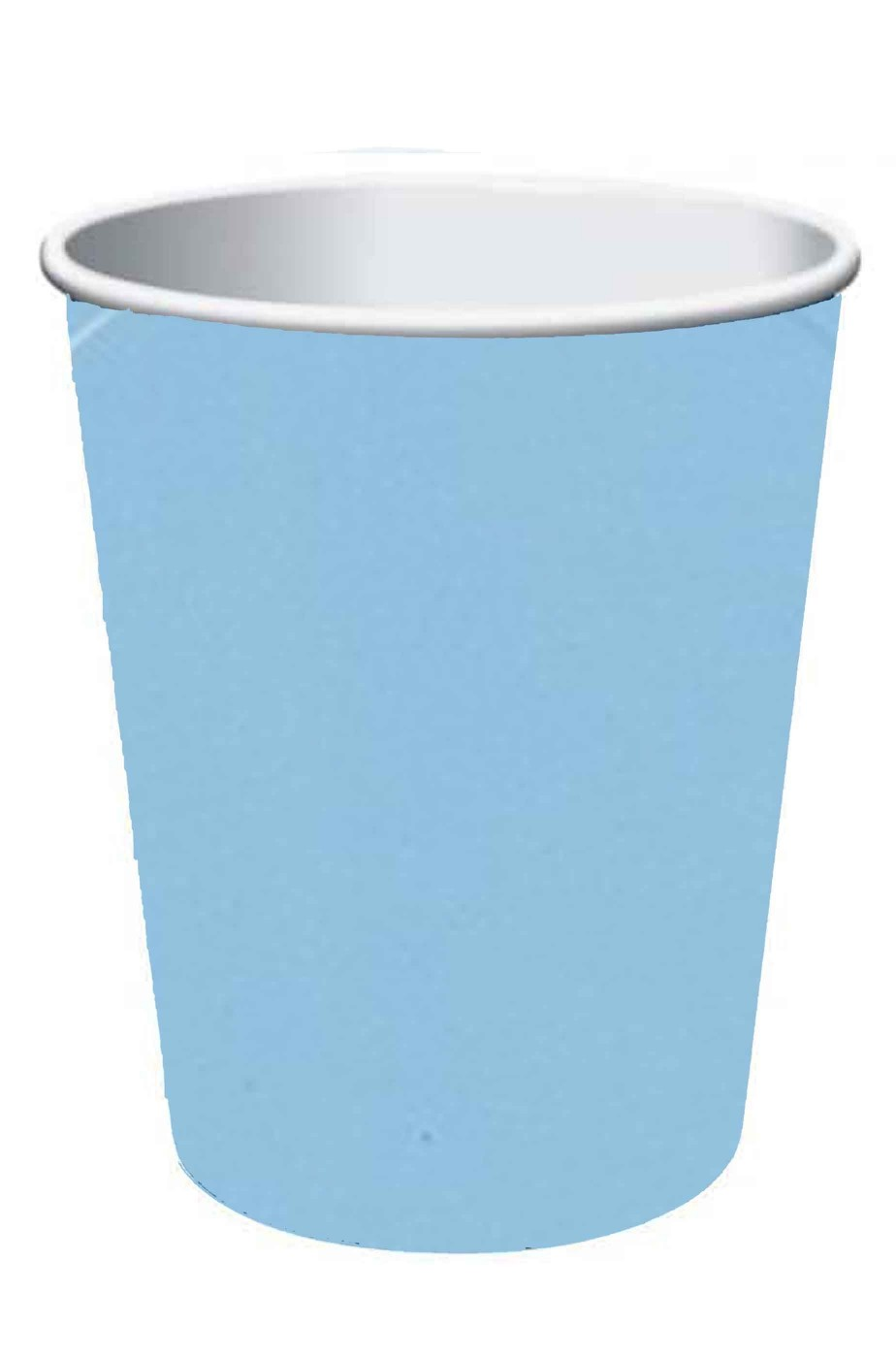Set 10  bicchieri di carta party azzurri ml. 266